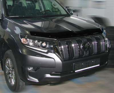 Дефлектор капота TOYOTA Land Cruiser Prado 150 (2017-) (темный)